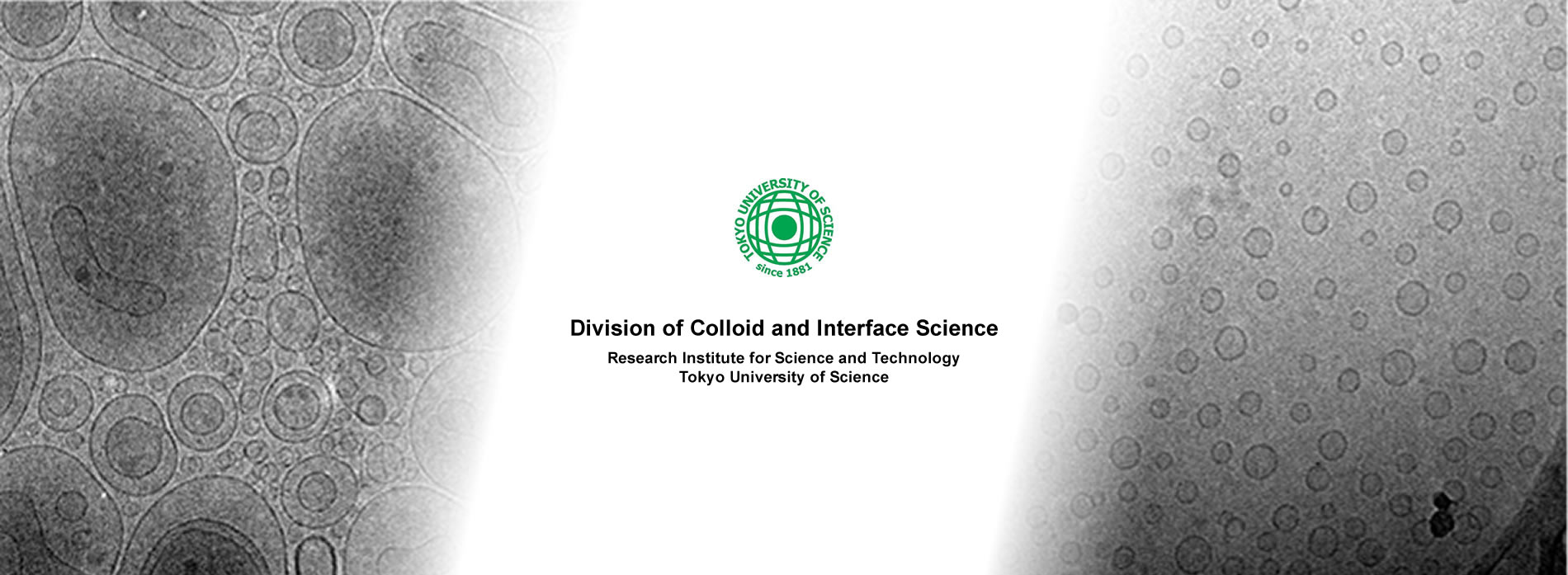 Division of Colloid and Interface Science Research Institute for Science and Technology Tokyo University of Science